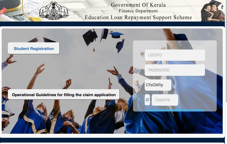 elrs.kerala.gov.in apply online for Kerala educational loan subsidy scheme